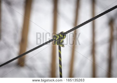Rope Park In The City