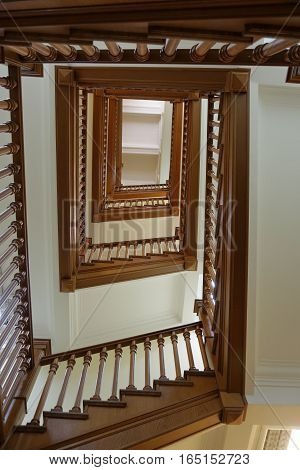 The Stairs Up In The House