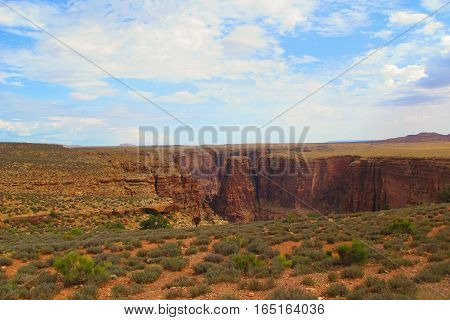 The beginning of the great Grand Canyon