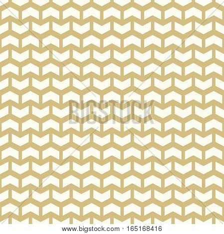 Geometric pattern with white arrows. Seamless abstract background