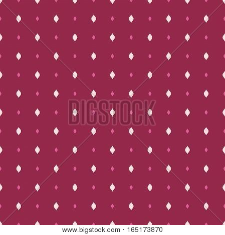 Seamless geometric pattern. Modern purple ornament with pink and white elements