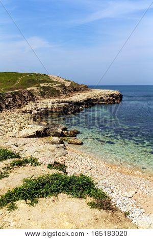 seascape on the coast of the Crimea