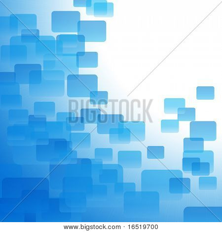 Blue air background with sunshine