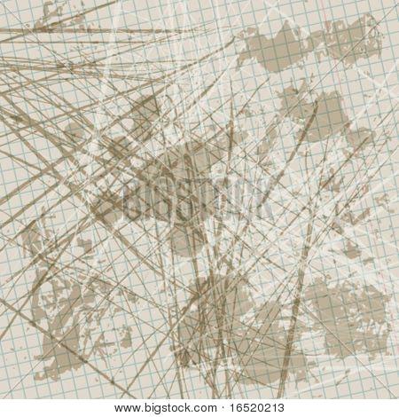 EPS abstrato projeto de plano de fundo do grunge