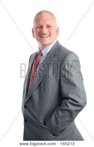 Casual Businessman - Happy