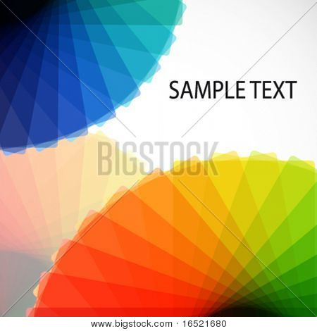 Abstract gamut backgrounds.