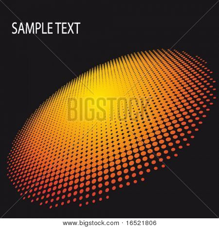EPS10 3D Spotted Flash Abstract Vector Background