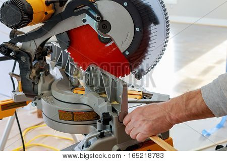 Circular Saw Cutting Wooden Plank Blade Concepts