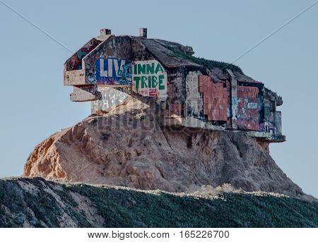 Devil's Slide Bunker Close To San Francisco
