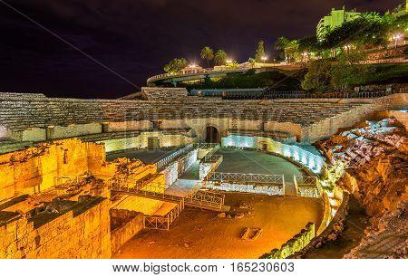 Amphitheatre of Tarraco, now Tarragona - Catalonia, Spain