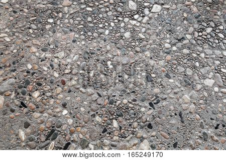 Ancient Stone Road Pavement, Flat Texture