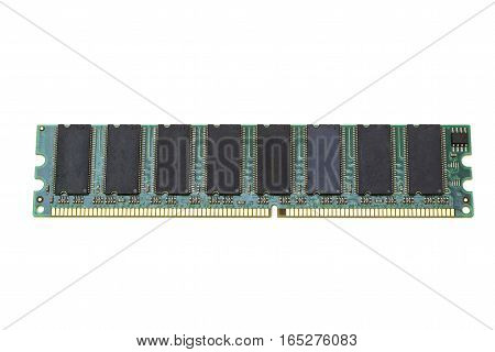 chip DDR memory for a computer in isolation