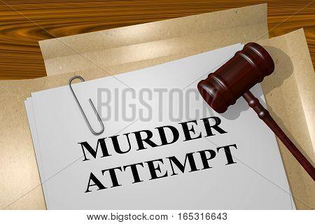 Murder Attempt - Legal Concept