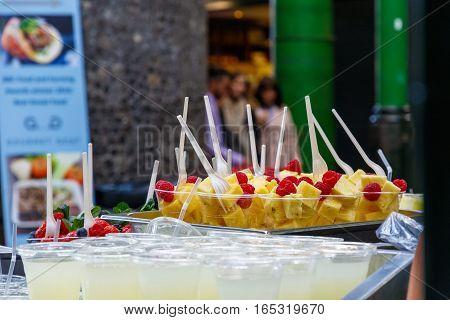 Fresh Fruits On Display