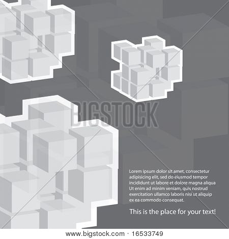 Cube Template Background