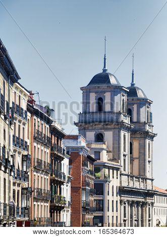 Madrid (Spain): a street near Plaza Mayor