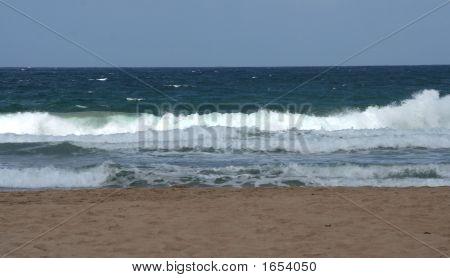 Surf On To Barbados Beach