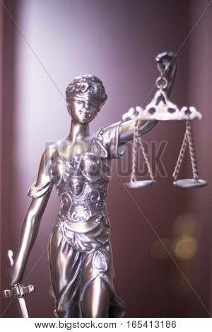 Law Office Legal Statue