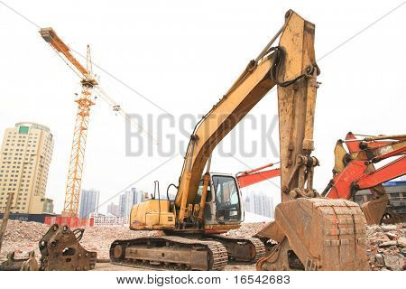 the heavy duty at the building sites.
