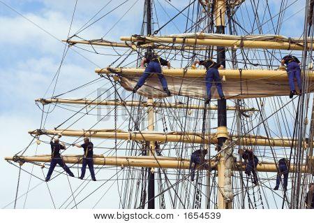 Climbing Sailors