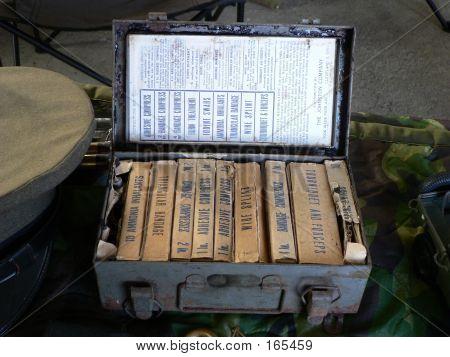 World War Two Medical Supplies
