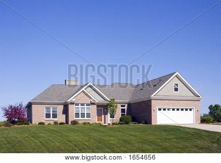 Modern One Story Home