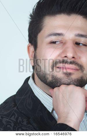 Elegant Smiling Man