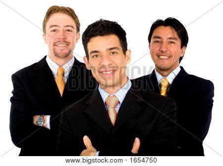 Men Only Business Team