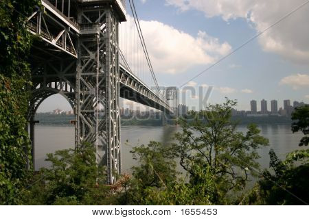George Washington Bridge From Below