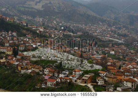 the photo taken in Sarajevo Bosnia &