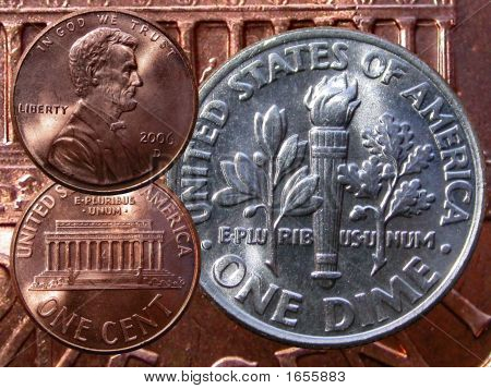 Pennies And Dimes