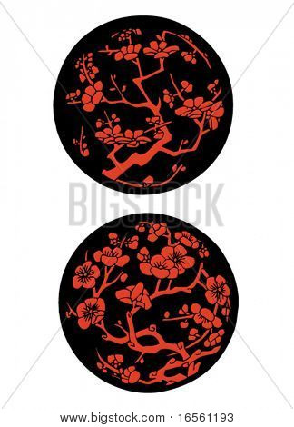 Vector Chinese Traditional Artistic Pattern