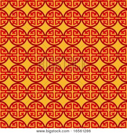 Vector de China patrón de prosperidad para el diseño de fondo.
