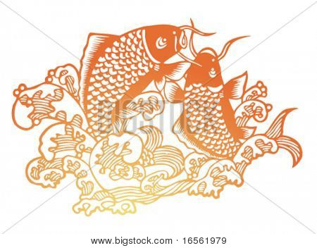 Vector of Traditional Artistic Pattern