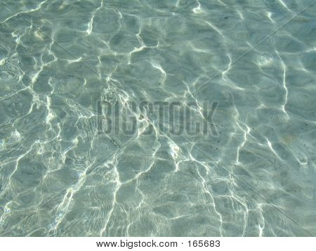 Light Diffractions In The Sea