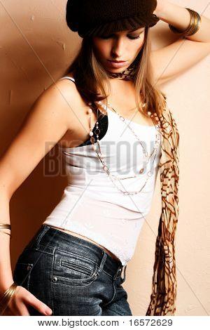Glamour Party Girl. Fashion Photo