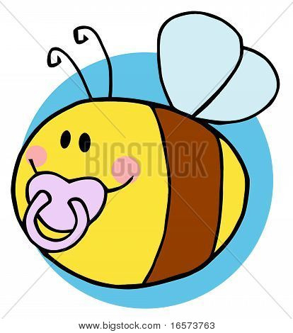 Flying Baby Bee Character