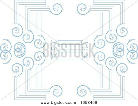 Scrapbook Elements - Scrollwork Corners