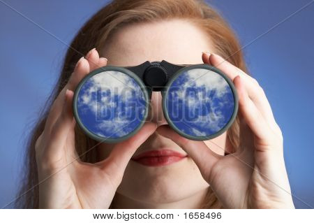 Clear Sighted Woman