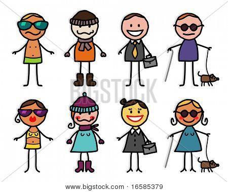 mixed characters 4