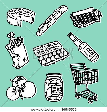 food & supermarket