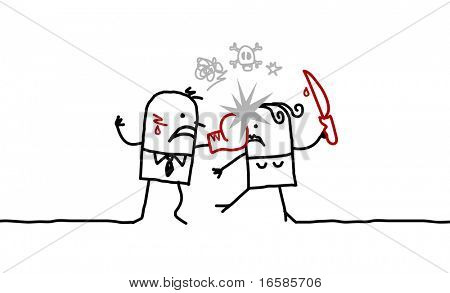couple and violence