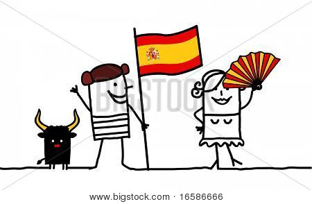 People and Spain
