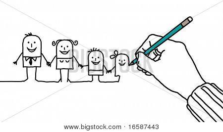 dibujo de la mano