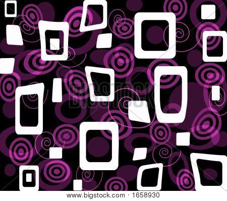 Purple Op-Art