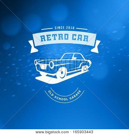 Classic Car Logo Emblem Badge Vector Photo Bigstock
