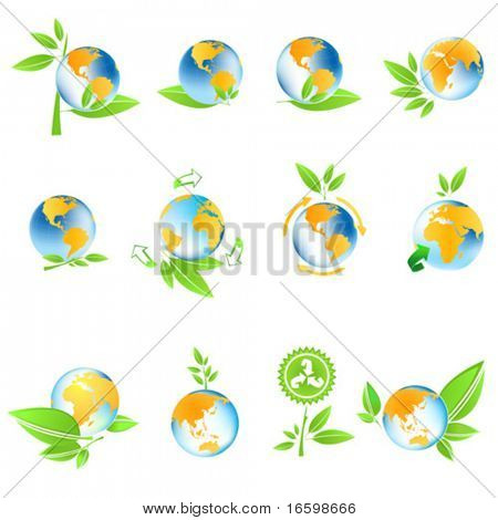 environmental conservation symbol planet earth