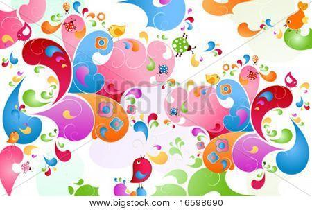 summer color burst