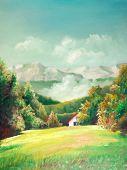 Summer Landscapes poster