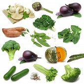 foto of brinjal  - Vegetable sampler - JPG